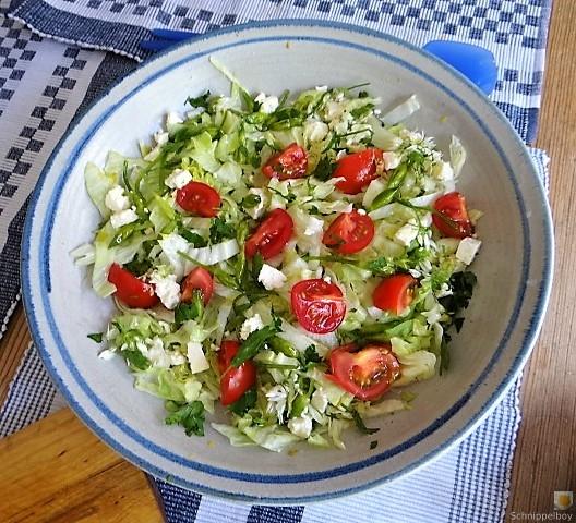 Tomatenreis und Salat (12)