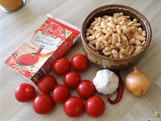 Weiße Bohnen in Tomatensugo (7)