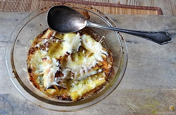 Zucchini und Kartoffelröllchen mit Fetacreme (23)