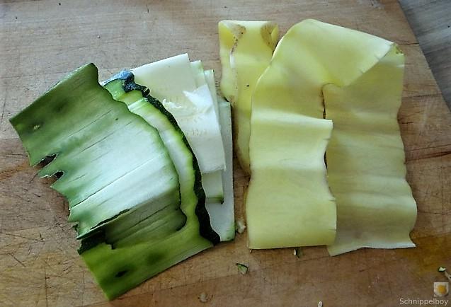 Zucchini und Kartoffelröllchen mit Fetacreme (8)