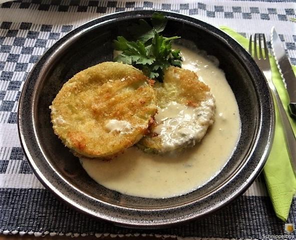 Frittierte-Zucchini-mit-Gorgonzolasauce-1