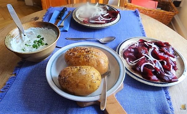 Matjes,Rote Beete,Dip, Kartoffel (5)