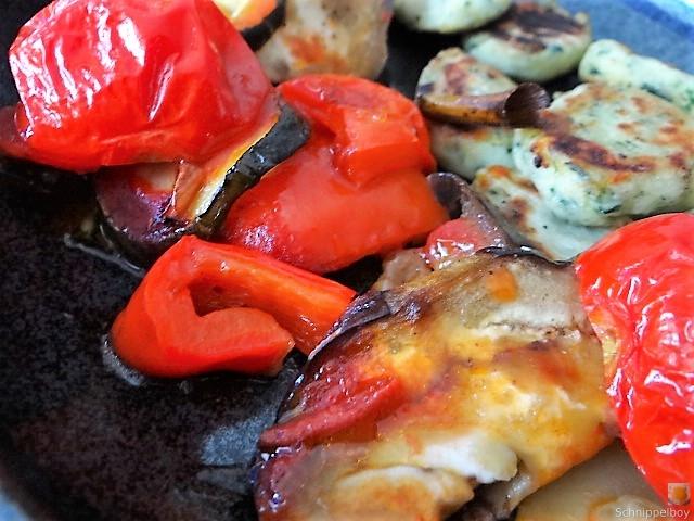 Ratatouille in der Pfanne und Spinat Gnocchis (23)