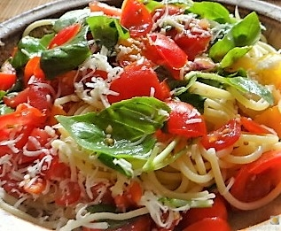 Spaghetti-Keka und Kirsch-Crumble (3)