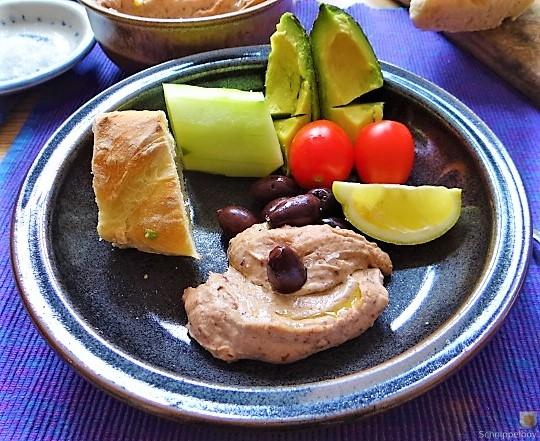 Baguette, Humus, Snack (13)