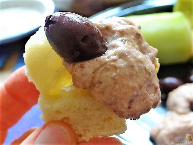 Baguette, Humus, Snack (15)