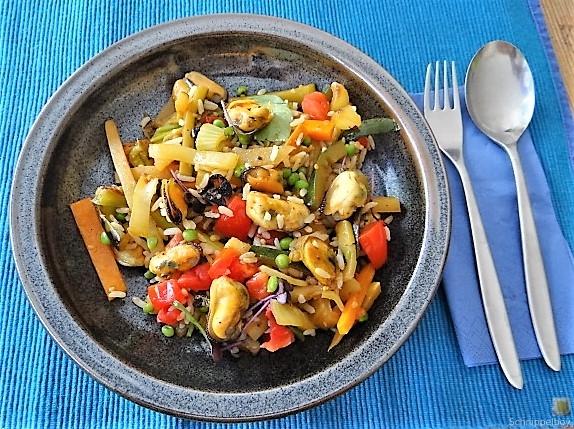 Gemüse,Reis,Muscheln (27)