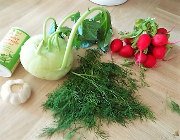 Ofenkartoffel mit Kohlrabi und Radieschensalat (8)
