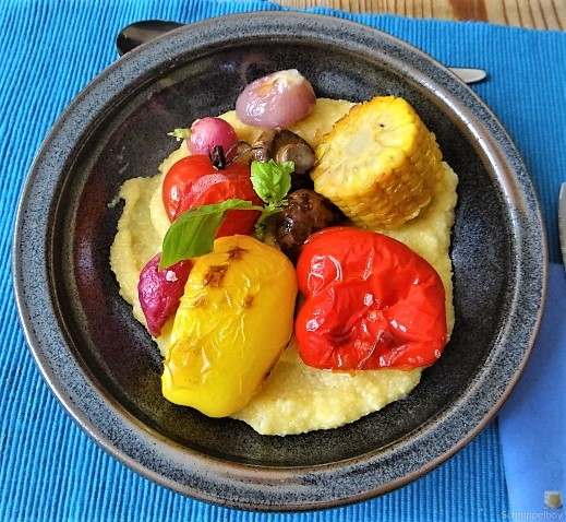 Polenta mit Ofengemüse (5)