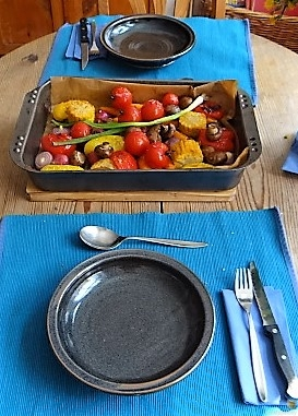 Polenta mit Ofengemüse (8)
