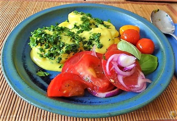 Béchamelkartoffeln und Tomaten (25)