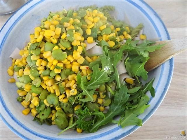 Buchweizenpasta mit verschiedenen Gemüsen (12)