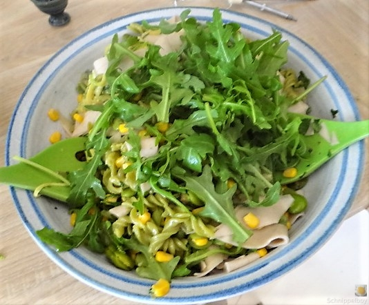 Buchweizenpasta mit verschiedenen Gemüsen (13)