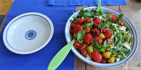 Buchweizenpasta mit verschiedenen Gemüsen (14)