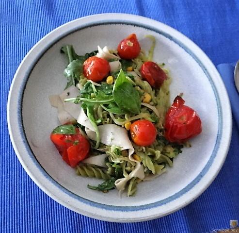 Buchweizenpasta mit verschiedenen Gemüsen (2)