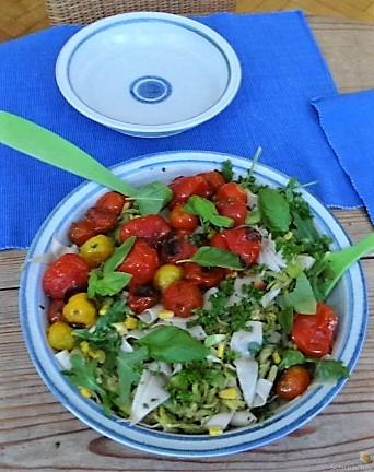 Buchweizenpasta mit verschiedenen Gemüsen (6)