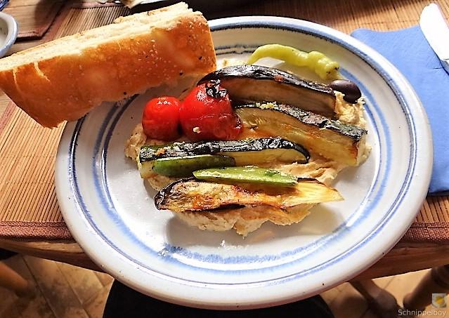 Hummus und Ofengemüse (2)