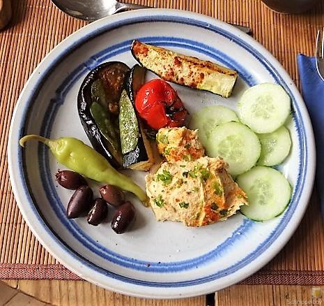 Hummus und Ofengemüse (4)