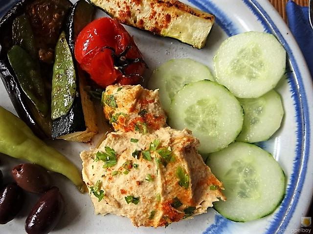 Hummus und Ofengemüse (5)