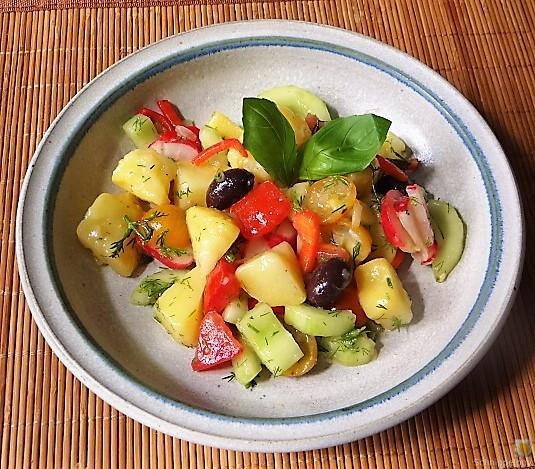 Mediterraner Kartoffelsalat (2)