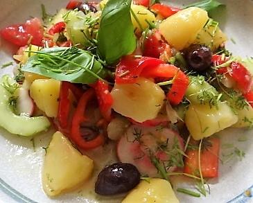 Mediterraner Kartoffelsalat (3)