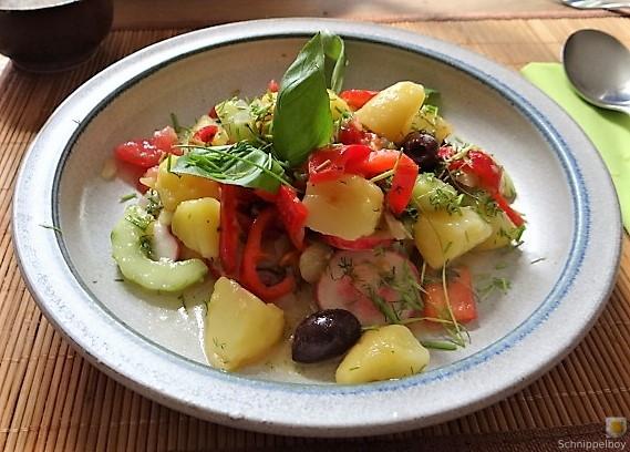 Mediterraner Kartoffelsalat (4)