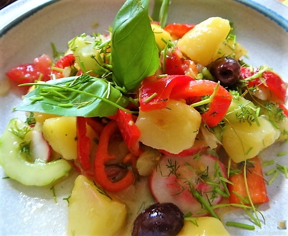 Mediterraner Kartoffelsalat (5)