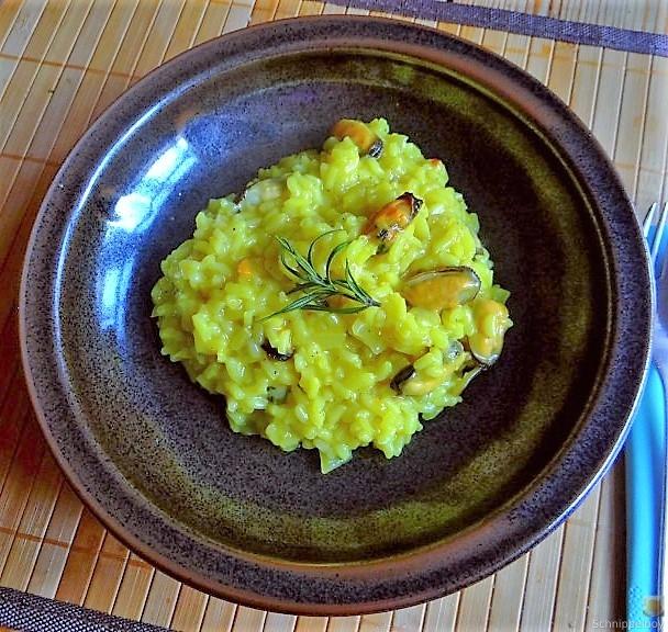 Muschel Risotto mit Zitrone (2)
