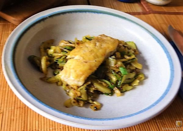 Rotbarsch auf Kartoffel und Zucchini (4)