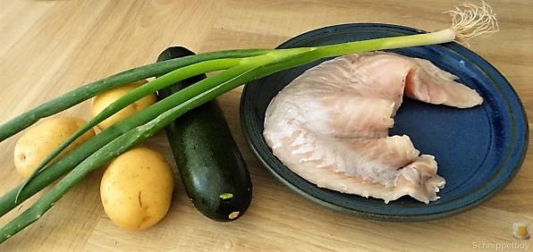 Rotbarsch auf Kartoffel und Zucchini (9)