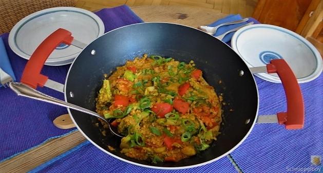 Gedünstetes Gemüse mit roten Linsen (7)