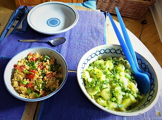 Kartoffelsalat mit Rührei (6)
